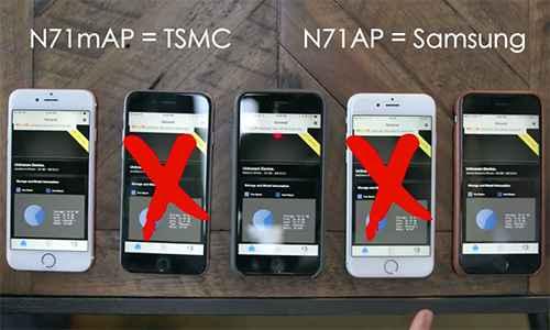 Sự khác biệt giữa chip A9 do Samsung và TSMC sản xuất trên iPhone 6S và 6S Plus - 1