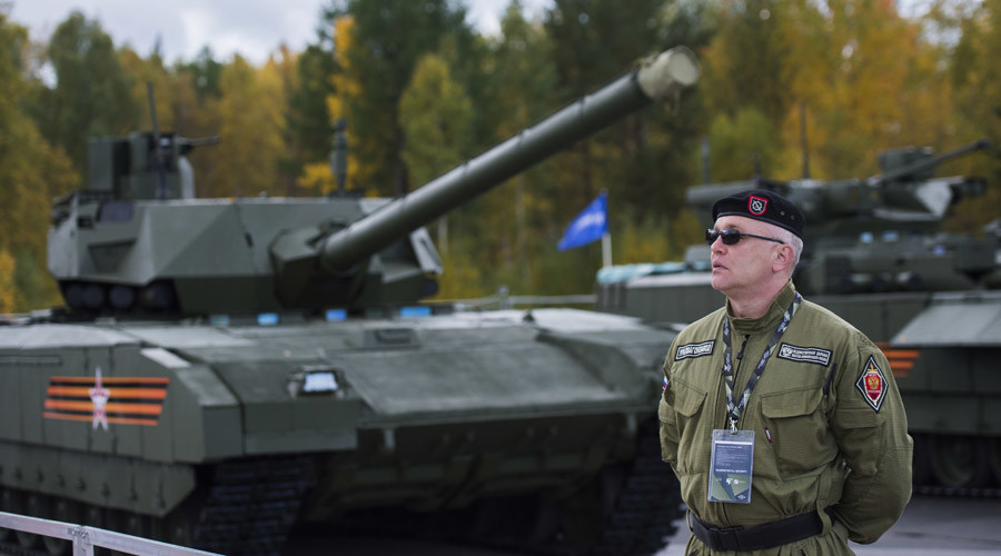 Nga sẽ tuyển game thủ điều khiển xe tăng chiến đấu - 1