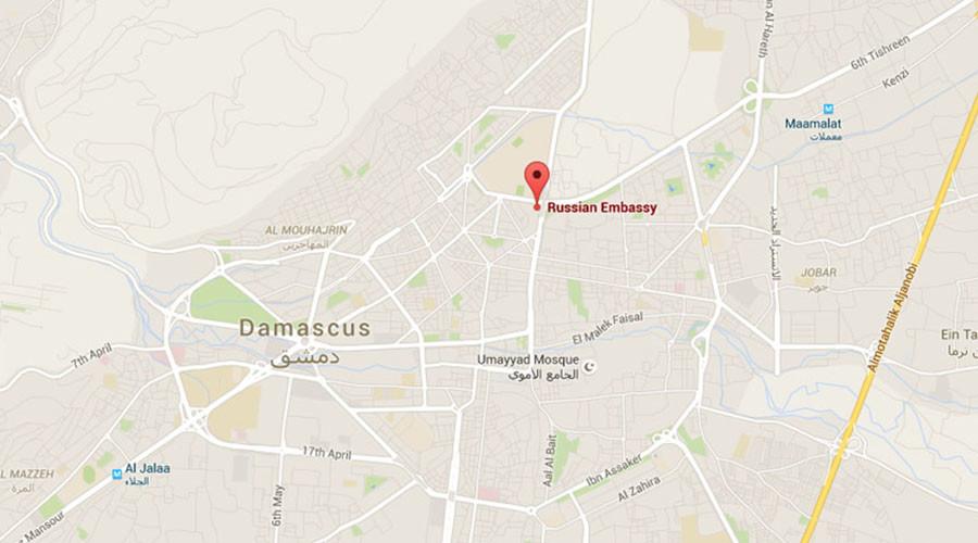 Đại sứ quán Nga tại Syria bị quân nổi dậy tấn công - 2