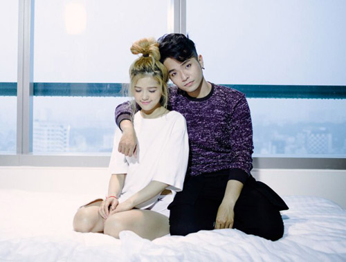 Phạm Hồng Phước thân mật cùng bạn diễn nữ trong MV - 5