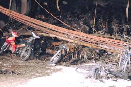Chủ đầu tư hỗ trợ toàn bộ thiệt hại xe bị cháy tại chung cư Xa La - 1