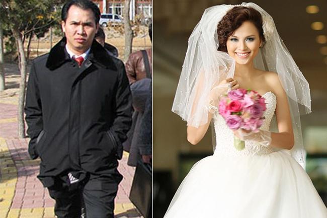 Hoa hậu Thế giới người Việt Diễm Hương từng bí mật kết hôn với đại gia Trường Chinh năm 2011.
