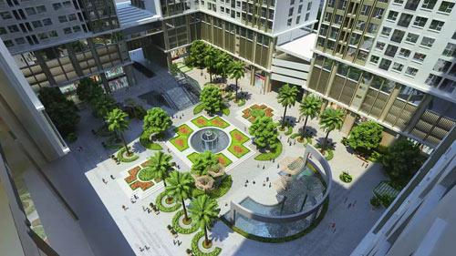 Trung tâm thương mại của Eco-Green City đạt tiêu chuẩn quốc tế - 1