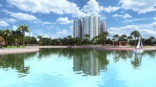 Trung tâm thương mại của Eco-Green City đạt tiêu chuẩn quốc tế - 2
