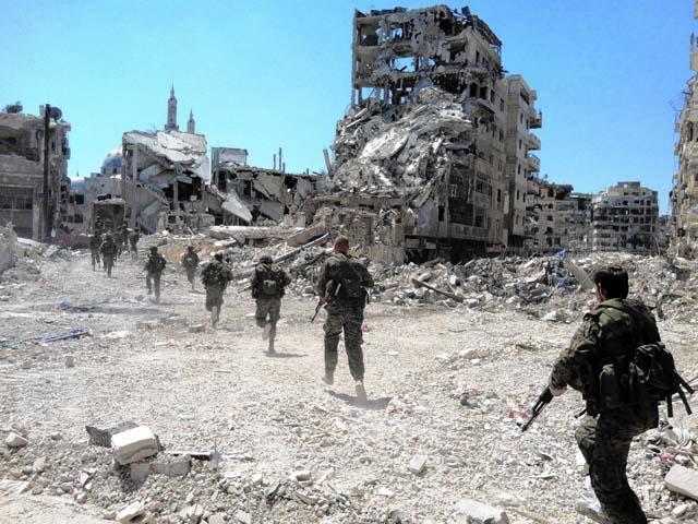 """Báo TQ: Nga, Mỹ """"chơi trò"""" Chiến tranh Lạnh tại Syria - 1"""