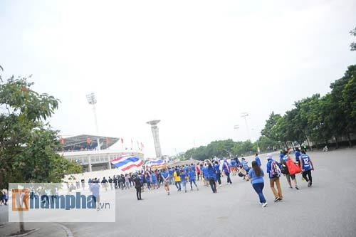 Ultra Thái Lan huyên náo sân Mỹ Đình - 11