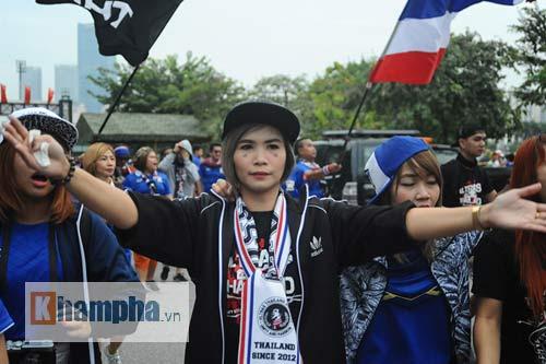 Ultra Thái Lan huyên náo sân Mỹ Đình - 5