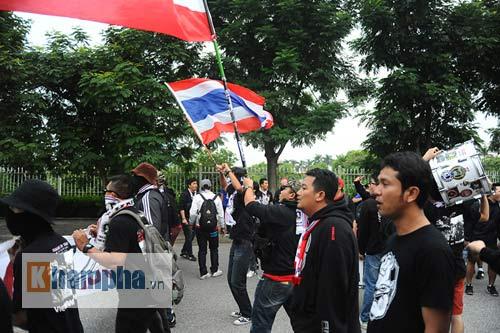 Ultra Thái Lan huyên náo sân Mỹ Đình - 6