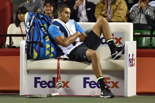 """""""Bad Boy"""" Kyrgios làm loạn ở Shanghai Masters - 2"""
