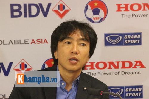 """Miura: """"Cầu thủ VN nóng vội, không theo chỉ đạo của HLV"""" - 1"""