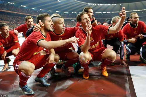 Bỉ vượt mặt Argentina, Đức lên số 1 thế giới - 4