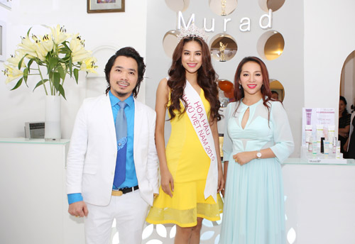 Bí mật đằng sau vẻ đẹp hoàn hảo của Hoa hậu Phạm Hương - 2