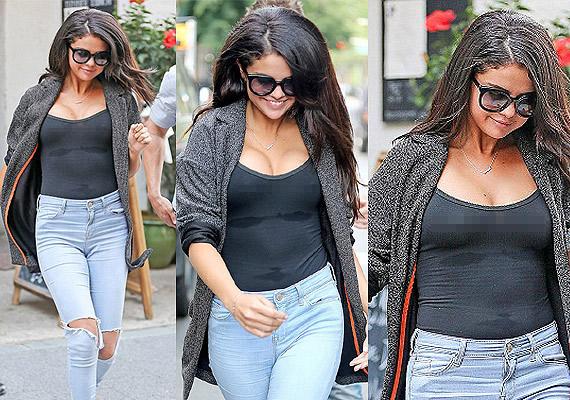 Selena Gomez táo bạo ủng hộ ngày Quốc tế không áo lót - 4