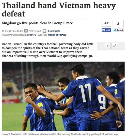 Đại thắng Việt Nam, Thái Lan trở về như người hùng - 3