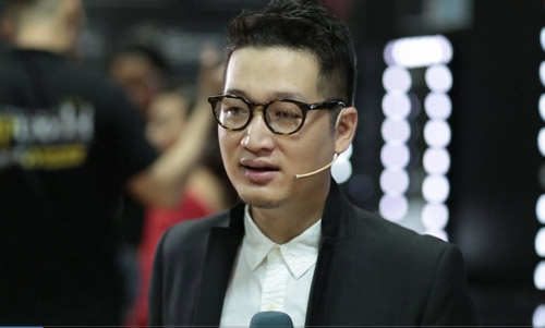 Thanh Hằng rạng rỡ trong hậu trường chung kết Next Top - 2