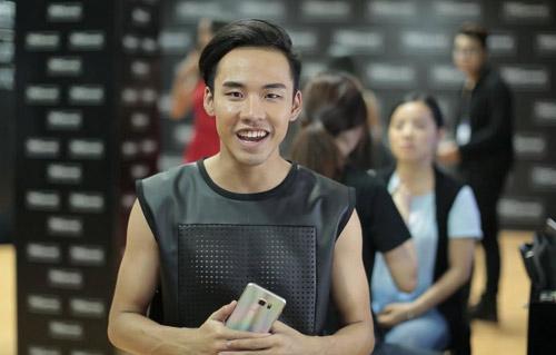 1444803471 thanh hang rang ro trong hau truong next top  3  Thanh Hằng rạng rỡ trong hậu trường chung kết Next Top