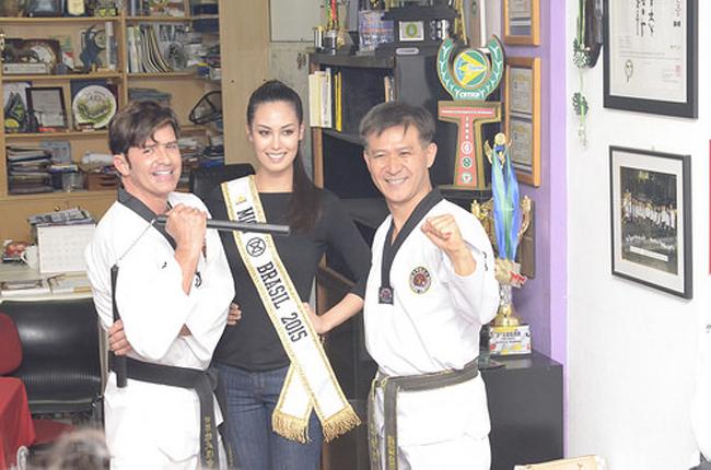 """"""" Tôi sẽ đồng hành và hướng đến những mục tiêu quan trọng mà WTF đặt ra, tôi sẽ nỗ lực hết mình để giúp cho Taekwondo ngày càng phát triển hơn, và tôi cũng sẽ hỗ trợ, ở & nbsp;bên cạnh các đội tuyển Taekwondo của các quốc gia trên thế giới tại Olympic Games 2016 sắp tới.  Tân hoa hậu Catharina Choi cho biết sau khi nhận vinh dự."""
