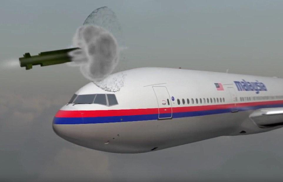 Video mô phỏng tên lửa Buk nổ, giết chết tổ lái MH17 ngay tức khắc - 1