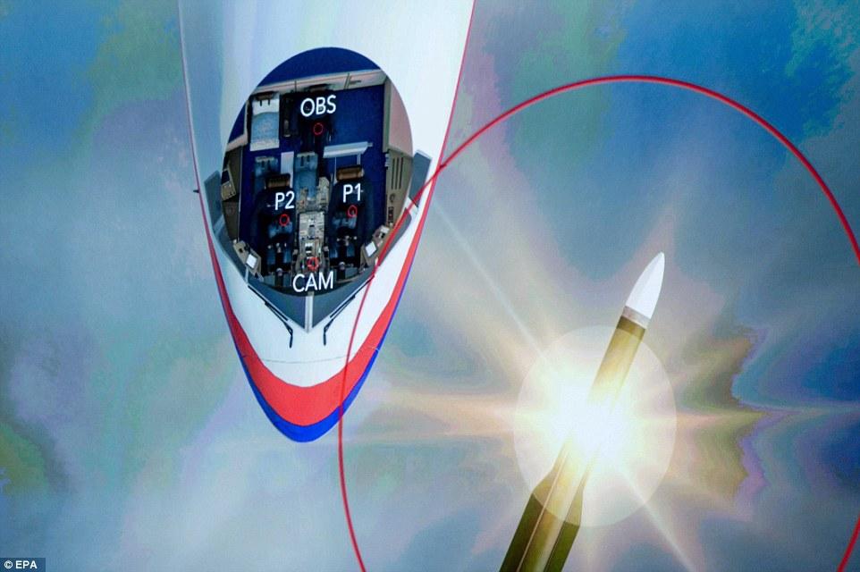 Video mô phỏng tên lửa Buk nổ, giết chết tổ lái MH17 ngay tức khắc - 3