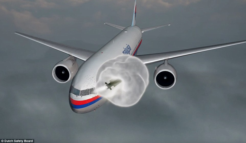 Video mô phỏng tên lửa Buk nổ, giết chết tổ lái MH17 ngay tức khắc - 2
