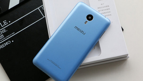 Meizu lộ điện thoại chip 8 nhân, vỏ kim loại đặc biệt - 1