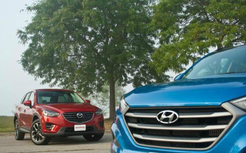 Hyundai Tucson và Mazda CX-5 2016: Ai đo ván ai? - 5