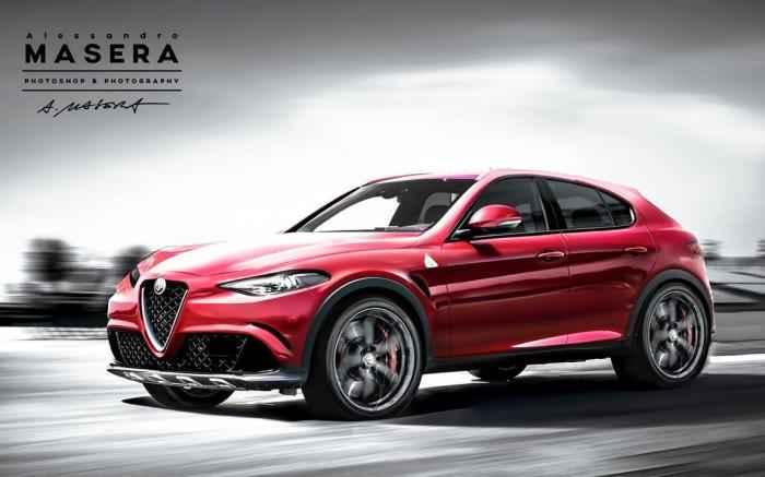 Một số thông tin về SUV Alfa Romeo đầu tiên - 1