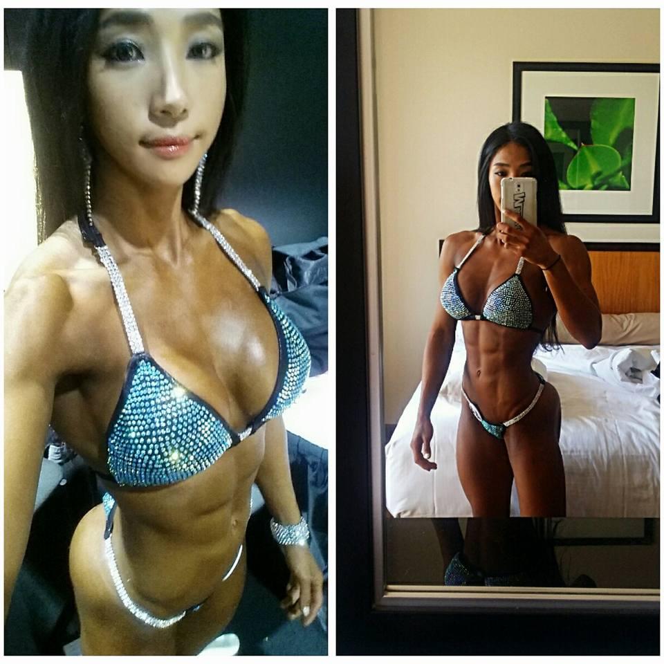 Mỹ nhân cơ bắp Hàn Quốc có khuôn mặt xinh như búp bê - 12