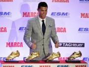 """Bóng đá - CR7 lần 4 đoạt Chiếc giày vàng: """"Hoàng đế"""" không ngai"""