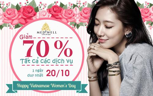 Mediwell Clinic and Spa ưu đãi khủng tôn vinh phụ nữ Việt - 1