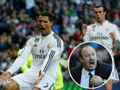 Benitez ra tay hóa giải mâu thuẫn Ronaldo - Bale - 1