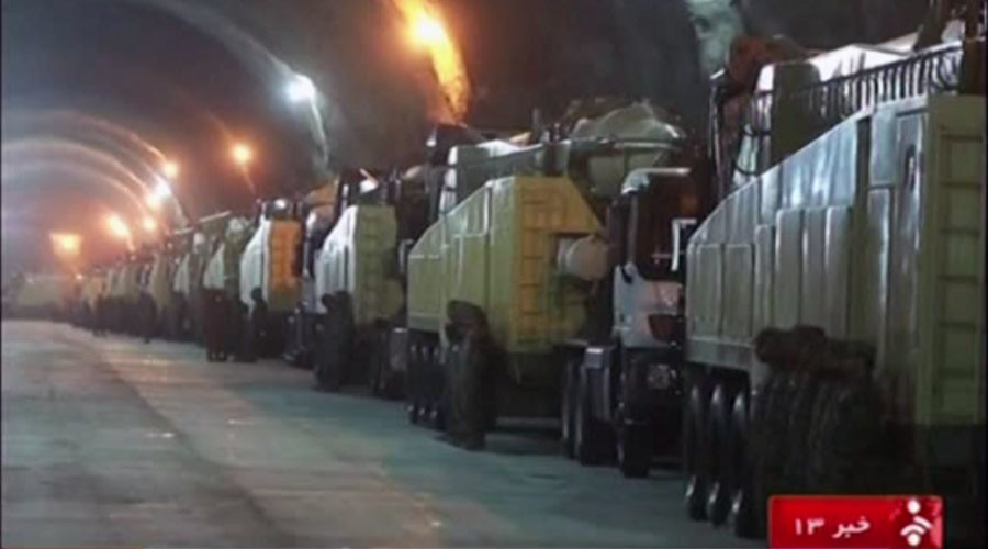 Iran bất ngờ công bố video tiết lộ căn cứ tên lửa bí mật - 1