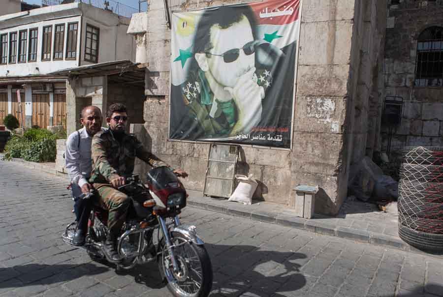 Ảnh: Cảnh thanh bình hiếm hoi trong đổ nát ở thủ đô Syria - 2