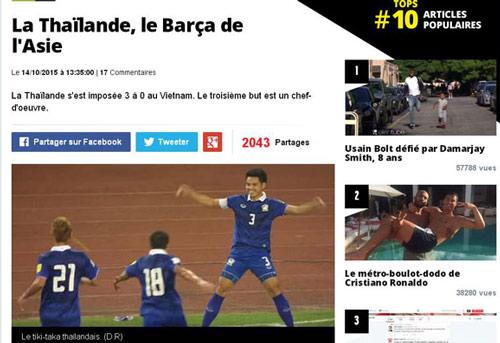 Fan Pháp ví Thái Lan như Barca, đá hay hơn… PSG - 1