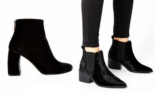 Thu này, hãy chiều đôi chân bằng giày nhung! - 10