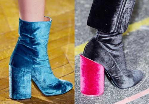Thu này, hãy chiều đôi chân bằng giày nhung! - 3