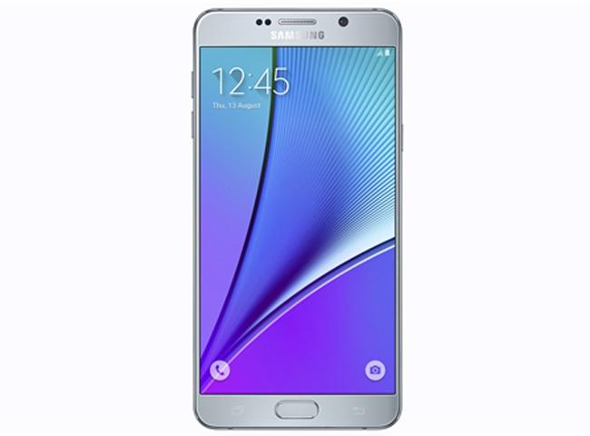 Đây là phiên bản màu đặc biệt và chưa từng xuất hiện trên các dòng Galaxy Note trước đó, Galaxy Note 5 màu bạc Titanium hứa hẹn tiếp tục gây ấn tượng cho người dùng và bổ sung vào bộ sưu tập màu sắc tinh tế và sang trọng của dòng Galaxy Note.