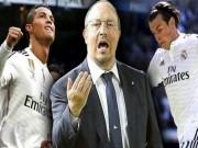Bóng đá - Benitez ra tay hóa giải mâu thuẫn Ronaldo - Bale