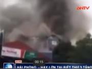 Video An ninh - Cháy biệt thự ở Hải Phòng, khu dân cư nhốn nháo
