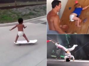 Bạn trẻ - Cuộc sống - Clip: Ngỡ ngàng trước tài năng không tưởng của trẻ