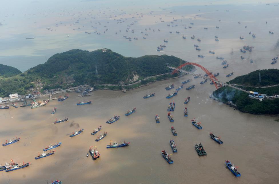 Chùm ảnh: Trung Quốc nhìn từ trên cao - 8