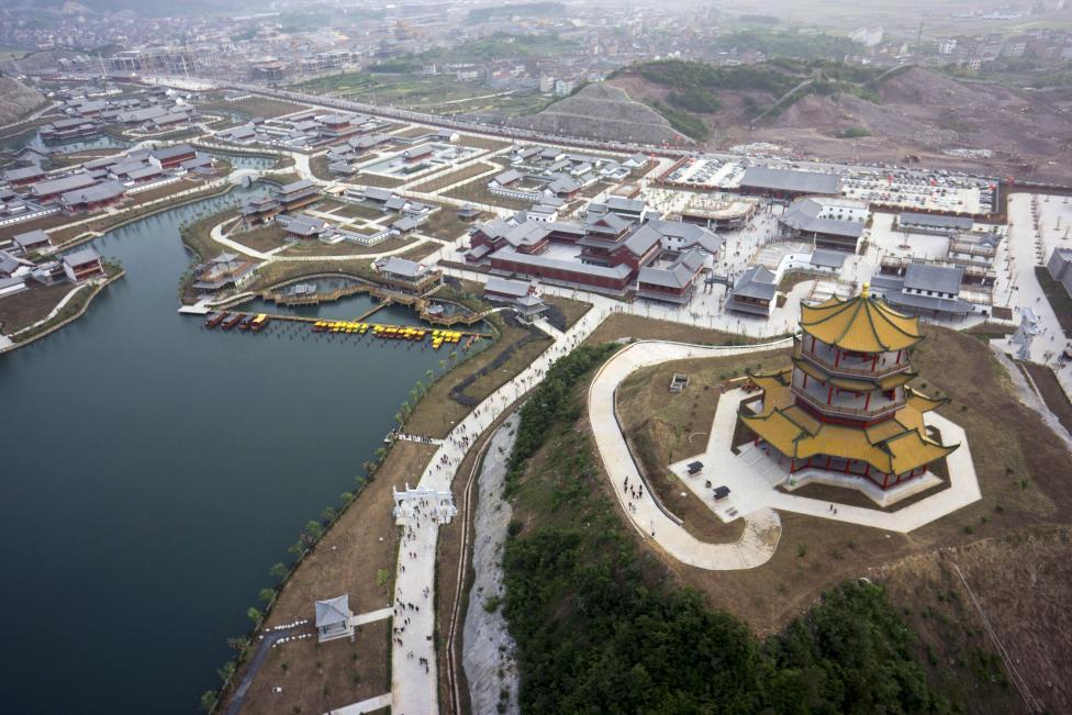 Chùm ảnh: Trung Quốc nhìn từ trên cao - 9