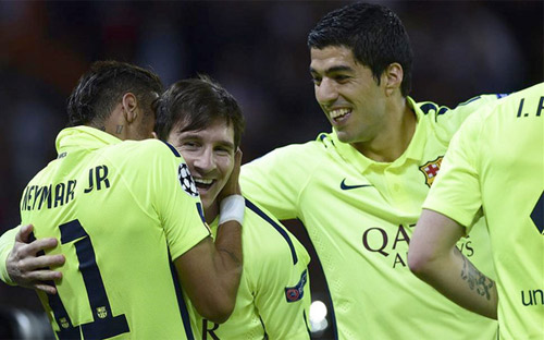 Hé lộ Barca: Messi, Neymar, Suarez kết thân ra sao - 2