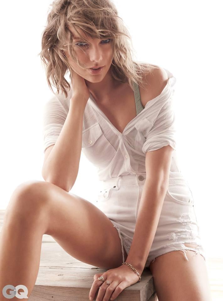 Taylor Swift nổi loạn khoe nội y trên tạp chí GQ - 3