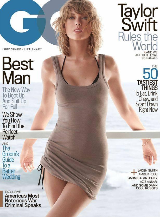 Taylor Swift nổi loạn khoe nội y trên tạp chí GQ - 1