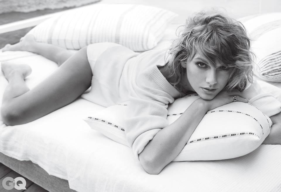 Taylor Swift nổi loạn khoe nội y trên tạp chí GQ - 6
