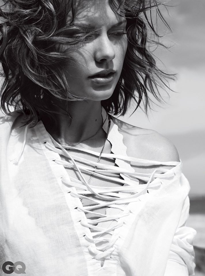 Taylor Swift nổi loạn khoe nội y trên tạp chí GQ - 7