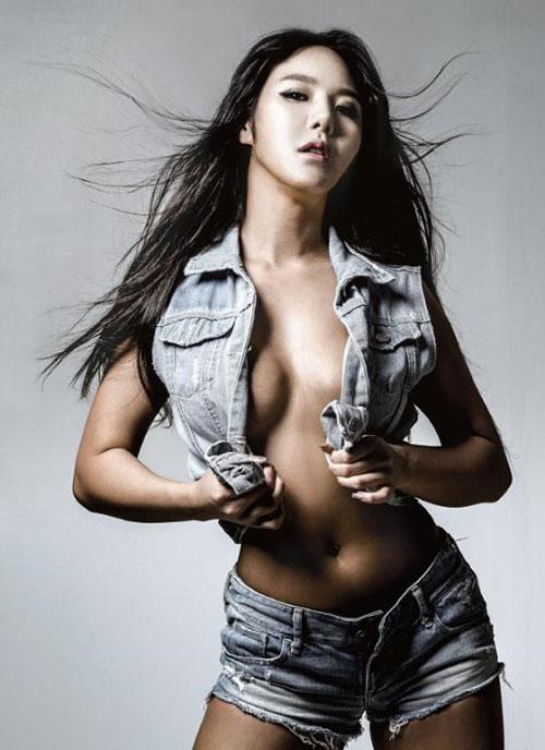 Hot girl có thân hình bốc lửa nhất Hàn Quốc - 3