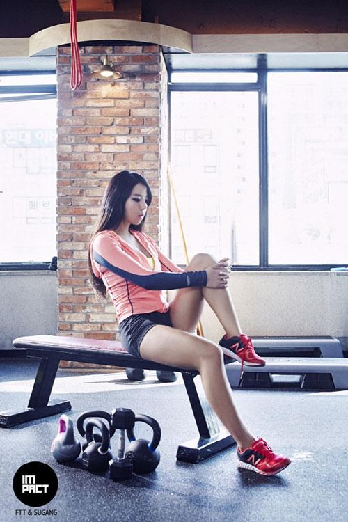 Hot girl có thân hình bốc lửa nhất Hàn Quốc - 10