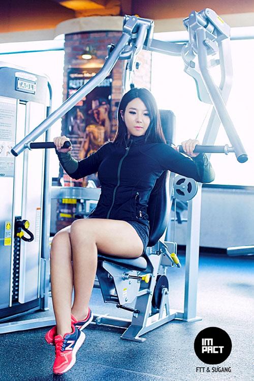 Hot girl có thân hình bốc lửa nhất Hàn Quốc - 11